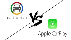 Apple CarPlay vs Android Auto в топовой ММ системе Mercedes